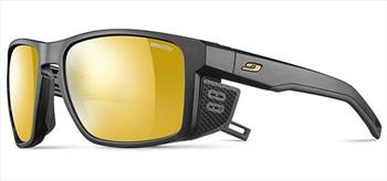 Julbo Shield Zebra Mountain Sunglasses, Black/Black