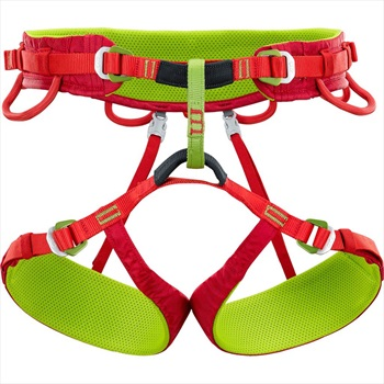 Climbing Technology Anthea Women's Rock Climbing Harness, M-L Red