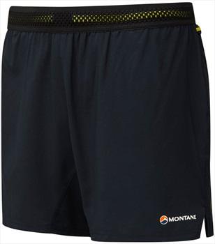 Montane Fang Quick Dry Men's Trail Running Shorts, XL Black