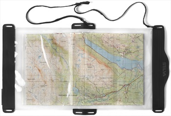 SILVA Map Case Protective Map Cover, Large Clear