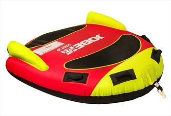 Jobe Scout Towable Inflatable Tube, 2 Rider Red Yellow 2019