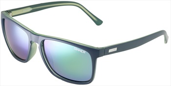 Sinner Oak CX Sintec Winter/Summer Green Wayfarer Sunglasses, Blue