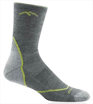 Darn Tough Adult Unisex Light Hiker Micro Crew Hiking Socks, Xl Grey