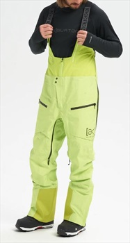 Burton [ak] Gore-Tex Tusk Ski/Snowboard Bib Pants, L Tender Shoots