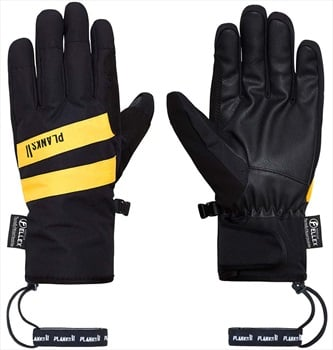 Planks Peacemaker Insulated Ski/Snowboard Gloves, S Black