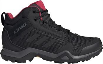 Adidas Terrex AX3 Mid GTX Women's Hiking Boots, UK 4.5 Black/Pink