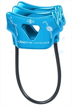 Beal Air Force 2 Rock Climbing Belay Device, Blue