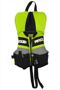Liquid Force Fury CGA Kids Neo Buoyancy Vest, Infant Green