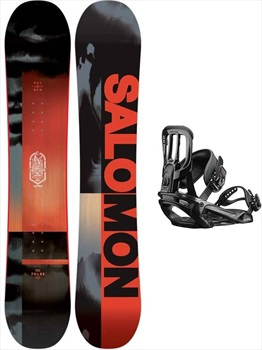 Salomon Pulse | Pact Snowboard Package, 156cm | Medium 2020