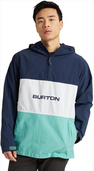 Burton Antiup Anorak Jacket, L Dress Blue/Buoy Blue