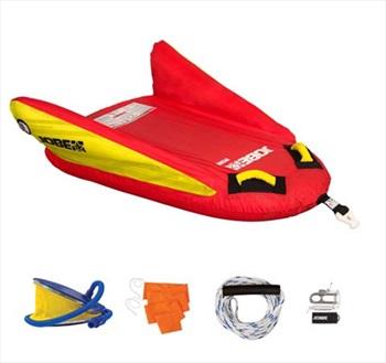 Jobe Hydra Towable Ski Tube Package, 1 Rider Red
