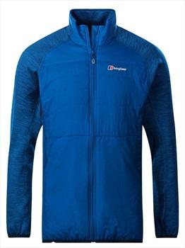 Berghaus Gemini Hybrid Insulated Fleece Jacket, XL Snorkel Blue