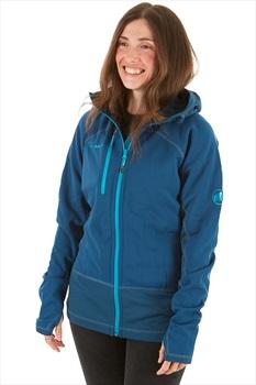 Mammut Womens Aconcagua Pro ML Hooded Jacket, UK 14 Orion Aqua