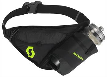 Scott Trail TR' Belt Running Belt, 1.5L Caviar Black/Sulphur Yellow