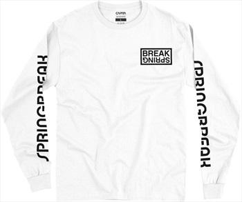 Capita Spring Break Long Sleeve T-Shirt, M White