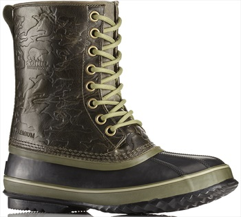 Sorel 1964 Premium T Wool Men's Winter Boots, UK 13 Nori/Black
