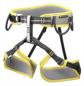 Ocun Adult Unisex Twist Set Rock Climbing Harness Set, M-XL Green/Grey