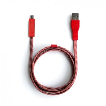 Lander Neve® Micro USB Charging Cable, 1m Red