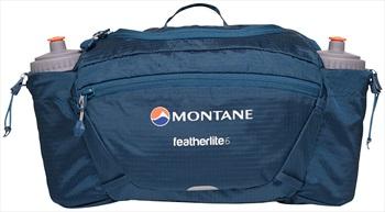 Montane Featherlite 6 Waist Pack 6L Bum Bag, 6L Narwhal Blue