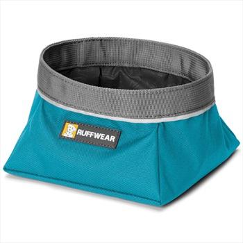 Ruffwear Quencher Dog Water/Food Bowl L Pacific Blue