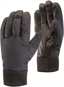 Black Diamond Midweight Waterproof Ski/Snowboard Gloves, L Black