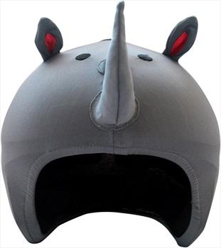 Coolcasc Animals Ski/Snowboard Helmet Cover, One Size, Rhino