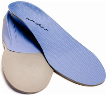 Superfeet Trim To Fit Thin Shoe Insoles, C Blue