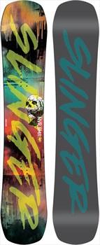 Never Summer Funslinger Rocker Camber Snowboard, 151cm 2020