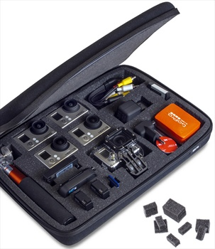 SP Customisable POV Action Camera Carry Case, Large, Black