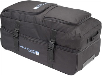 Mountain Pac Wheelie Twin Tour Split Roller Bag 105L Black