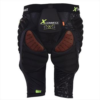 Demon Flex Force X D3O V3 Ski/Snowboard Impact Shorts, XS Black
