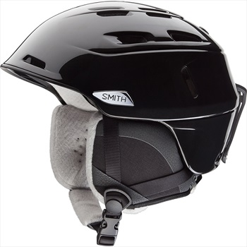 Smith Compass Women's Snowboard/Ski Helmet, L Black Pearl