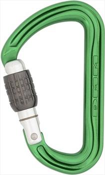 DMM Shadow Screwgate Rock Climbing Carabiner One Size Green