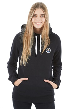 Volcom Saloon Fleece Women's Ski/Snowboard Hoody M Black