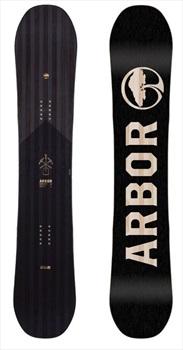 Arbor Foundation Snowboard, 158cm Black/Pink 2020
