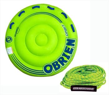 O'Brien Orbit | Supreme Rope Towable Tube Pack, 2 Rider Green