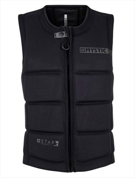 Mystic Star Wakeboard Impact Vest, 2X Small Black 2020