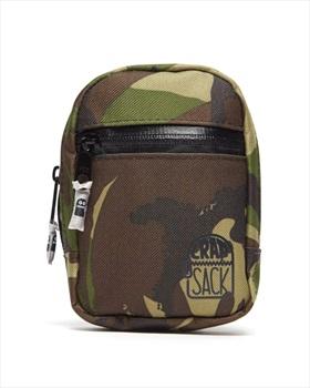 Crap Sack Binding Bag Snowboard Highback Backpack, CantSeeMe Camo