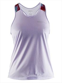 Craft Womens Pulse Singlet Women's Tank Top Vest, M Violet