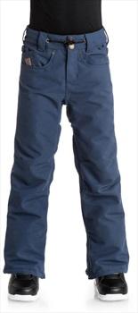 DC Relay Kids' Ski/Snowboard Pants Trousers 8 Yrs Insignia Blue