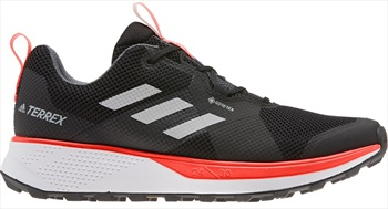 Adidas Terrex Two GTX Trail Running Shoes, UK 12 Grey Two F17