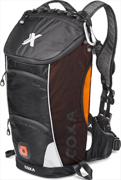 Coxa Carry M18 Backpack Dayhiking, Skiing, Cycling Pack, Orange Black