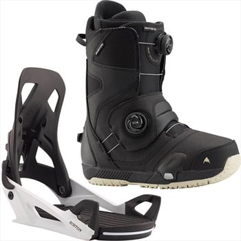 Burton Photon Step On Snowboard Binding & Boot, UK 10 Black/White 2020