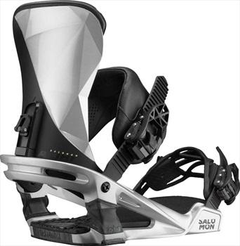 Salomon Alibi Snowboard Binding, L Metallic Grey 2020