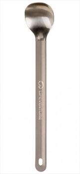 Lifeventure Titanium Long Handled Spoon Ultralight Camping Cutlery