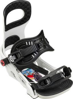 Bent Metal Joint Snowboard Bindings, L Grey 2021