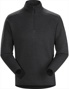 Arcteryx Covert 1/2 Zip Men's Fleece S Black Heather