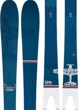 LINE Sakana Ski Only Skis, 166cm Blue/White