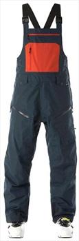 Flylow Firebird Bib Ski/Snowboard Pants, S Midnight/Oxide