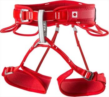 Ocun Twist Tech Womens Rock Climbing Harness, L - XL Red